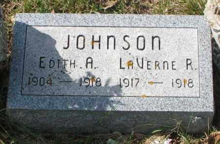 JOHNSON, EDITH A. - Clay County, South Dakota | EDITH A. JOHNSON - South Dakota Gravestone Photos