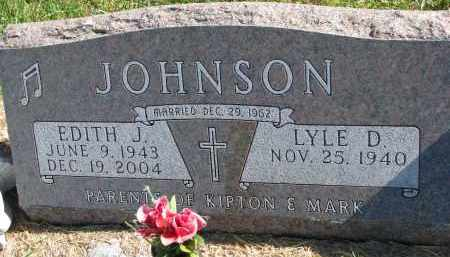 JOHNSON, LYLE D. - Clay County, South Dakota | LYLE D. JOHNSON - South Dakota Gravestone Photos