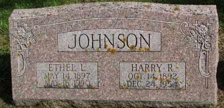 JOHNSON, ETHEL L. - Clay County, South Dakota   ETHEL L. JOHNSON - South Dakota Gravestone Photos