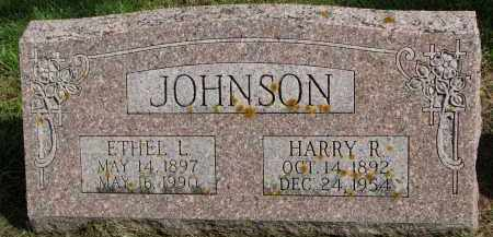 JOHNSON, HARRY R. - Clay County, South Dakota | HARRY R. JOHNSON - South Dakota Gravestone Photos