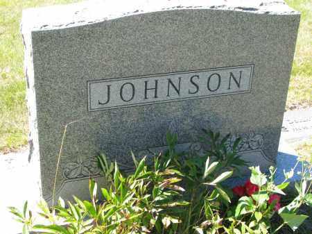 JOHNSON, FAMILY STONE - Clay County, South Dakota   FAMILY STONE JOHNSON - South Dakota Gravestone Photos