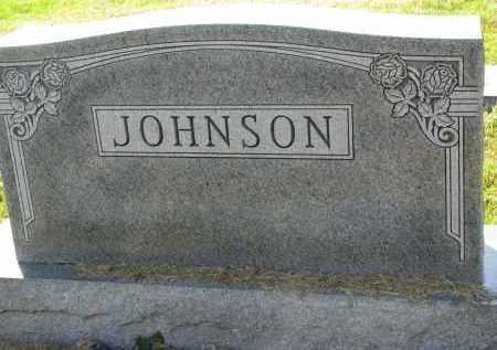 JOHNSON, FAMILY STONE - Clay County, South Dakota | FAMILY STONE JOHNSON - South Dakota Gravestone Photos