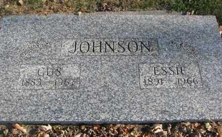 JOHNSON, GUS - Clay County, South Dakota | GUS JOHNSON - South Dakota Gravestone Photos
