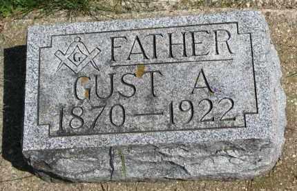 JOHNSON, GUST A. - Clay County, South Dakota   GUST A. JOHNSON - South Dakota Gravestone Photos