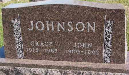 JOHNSON, JOHN - Clay County, South Dakota | JOHN JOHNSON - South Dakota Gravestone Photos