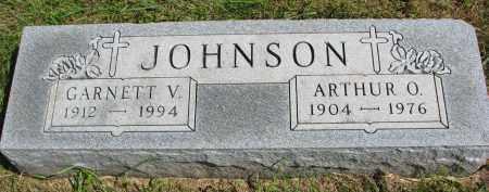 JOHNSON, ARTHUR O. - Clay County, South Dakota | ARTHUR O. JOHNSON - South Dakota Gravestone Photos