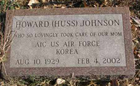 JOHNSON, HOWARD - Clay County, South Dakota   HOWARD JOHNSON - South Dakota Gravestone Photos