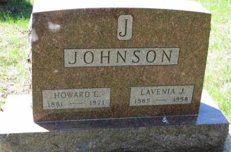 JOHNSON, HOWARD E. - Clay County, South Dakota | HOWARD E. JOHNSON - South Dakota Gravestone Photos