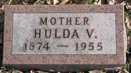 JOHNSON, HULDA V. - Clay County, South Dakota | HULDA V. JOHNSON - South Dakota Gravestone Photos