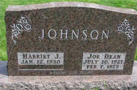 JOHNSON, JOE DEAN - Clay County, South Dakota | JOE DEAN JOHNSON - South Dakota Gravestone Photos