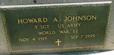 JOHNSON, HOWARD A. (WW II) - Clay County, South Dakota | HOWARD A. (WW II) JOHNSON - South Dakota Gravestone Photos