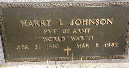JOHNSON, HARRY L. (WW II) - Clay County, South Dakota | HARRY L. (WW II) JOHNSON - South Dakota Gravestone Photos
