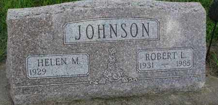 JOHNSON, ROBERT L. - Clay County, South Dakota | ROBERT L. JOHNSON - South Dakota Gravestone Photos