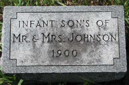 JOHNSON, INFANT SONS - Clay County, South Dakota | INFANT SONS JOHNSON - South Dakota Gravestone Photos