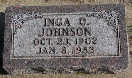 JOHNSON, INGA O. - Clay County, South Dakota | INGA O. JOHNSON - South Dakota Gravestone Photos