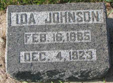 JOHNSON, IDA - Clay County, South Dakota | IDA JOHNSON - South Dakota Gravestone Photos