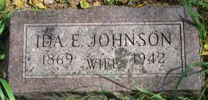 JOHNSON, IDA E. - Clay County, South Dakota | IDA E. JOHNSON - South Dakota Gravestone Photos