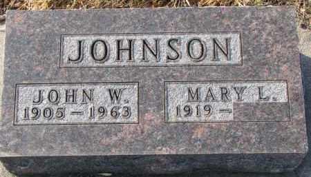 JOHNSON, MARY L. - Clay County, South Dakota | MARY L. JOHNSON - South Dakota Gravestone Photos