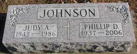 JOHNSON, JUDY A. - Clay County, South Dakota | JUDY A. JOHNSON - South Dakota Gravestone Photos