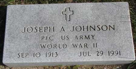 JOHNSON, JOSEPH A. (WW II) - Clay County, South Dakota | JOSEPH A. (WW II) JOHNSON - South Dakota Gravestone Photos