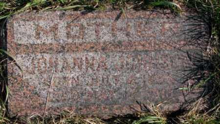 JOHNSON, JOHANNA - Clay County, South Dakota   JOHANNA JOHNSON - South Dakota Gravestone Photos