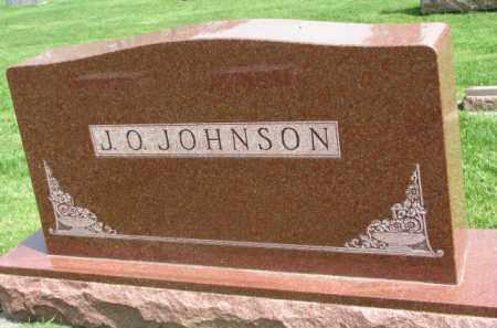 JOHNSON, J.O. - Clay County, South Dakota   J.O. JOHNSON - South Dakota Gravestone Photos