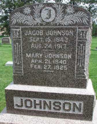 JOHNSON, JACOB - Clay County, South Dakota   JACOB JOHNSON - South Dakota Gravestone Photos