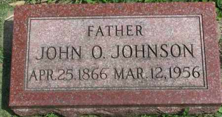 JOHNSON, JOHN O. - Clay County, South Dakota | JOHN O. JOHNSON - South Dakota Gravestone Photos