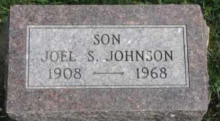 JOHNSON, JOEL S. - Clay County, South Dakota   JOEL S. JOHNSON - South Dakota Gravestone Photos