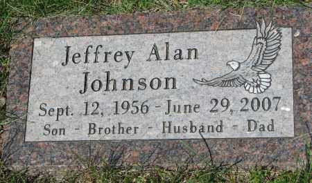 JOHNSON, JEFFREY ALAN - Clay County, South Dakota | JEFFREY ALAN JOHNSON - South Dakota Gravestone Photos