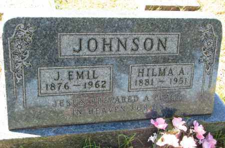 JOHNSON, HILMA A. - Clay County, South Dakota | HILMA A. JOHNSON - South Dakota Gravestone Photos