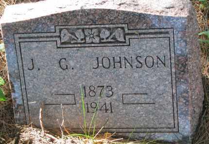 JOHNSON, J.G. - Clay County, South Dakota | J.G. JOHNSON - South Dakota Gravestone Photos