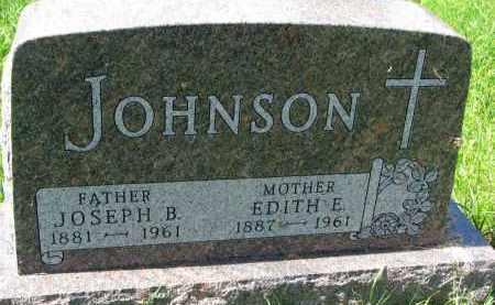 JOHNSON, JOSEPH B. - Clay County, South Dakota   JOSEPH B. JOHNSON - South Dakota Gravestone Photos