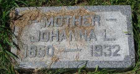 JOHNSON, JOHANNA L. - Clay County, South Dakota | JOHANNA L. JOHNSON - South Dakota Gravestone Photos