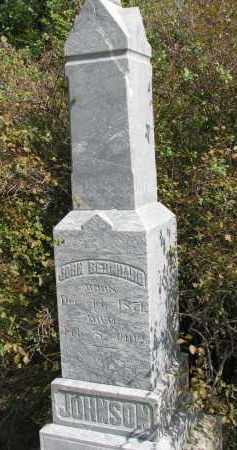 JOHNSON, JOHN BERNARD - Clay County, South Dakota | JOHN BERNARD JOHNSON - South Dakota Gravestone Photos