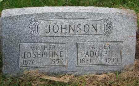 ENGSTROM JOHNSON, JOSEPHINE CAROLINE - Clay County, South Dakota | JOSEPHINE CAROLINE ENGSTROM JOHNSON - South Dakota Gravestone Photos