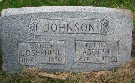 ENGSTROM JOHNSON, JOSEPHINE CAROLINE - Clay County, South Dakota | JOSEPHINE CAROLINE ENGSTROM JOHNSON - South Dakota Gravestone Photos