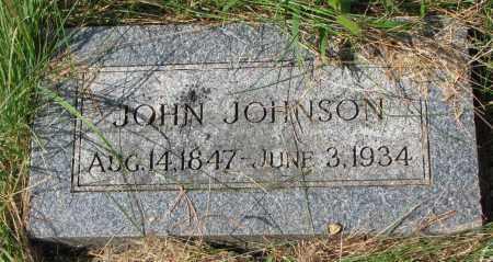 JOHNSON, JOHN - Clay County, South Dakota   JOHN JOHNSON - South Dakota Gravestone Photos