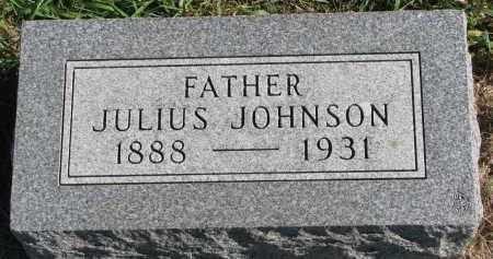JOHNSON, JULIUS - Clay County, South Dakota | JULIUS JOHNSON - South Dakota Gravestone Photos
