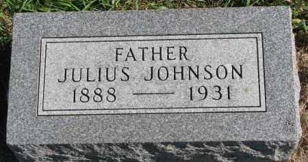JOHNSON, JULIUS - Clay County, South Dakota | JULIUS JOHNSON - South Dakota Gravestone Photos