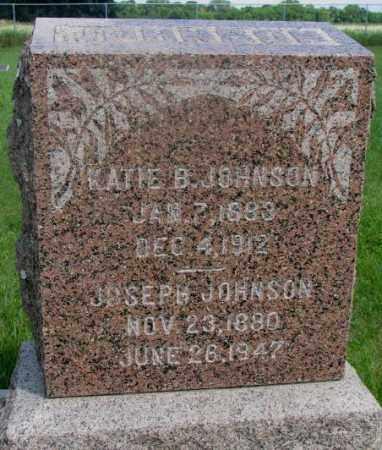 JOHNSON, KATIE B. - Clay County, South Dakota | KATIE B. JOHNSON - South Dakota Gravestone Photos