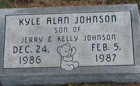 JOHNSON, KYLE ALAN - Clay County, South Dakota | KYLE ALAN JOHNSON - South Dakota Gravestone Photos