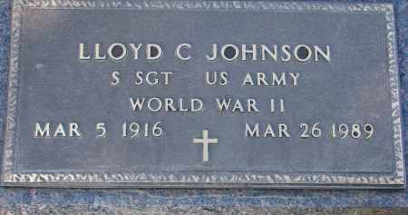 JOHNSON, LLOYD C. - Clay County, South Dakota | LLOYD C. JOHNSON - South Dakota Gravestone Photos