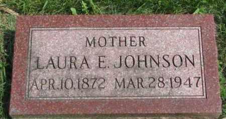 JOHNSON, LAURA E. - Clay County, South Dakota | LAURA E. JOHNSON - South Dakota Gravestone Photos