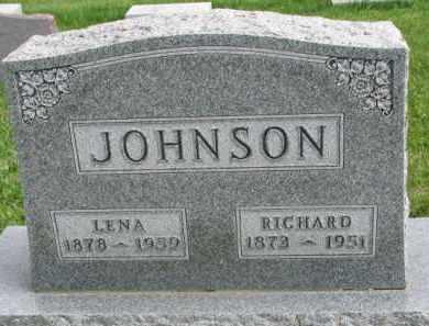 JOHNSON, LENA - Clay County, South Dakota   LENA JOHNSON - South Dakota Gravestone Photos