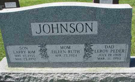JOHNSON, LARRY KIM - Clay County, South Dakota | LARRY KIM JOHNSON - South Dakota Gravestone Photos