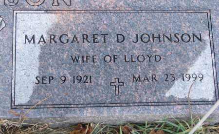 JOHNSON, MARGARET D. - Clay County, South Dakota | MARGARET D. JOHNSON - South Dakota Gravestone Photos