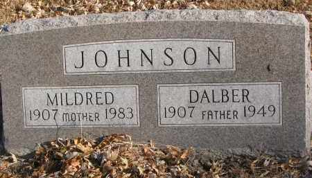 JOHNSON, DALBER - Clay County, South Dakota | DALBER JOHNSON - South Dakota Gravestone Photos
