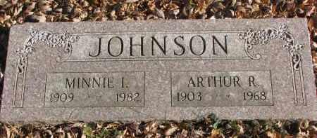 JOHNSON, ARTHUR R. - Clay County, South Dakota | ARTHUR R. JOHNSON - South Dakota Gravestone Photos