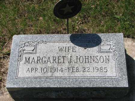 JOHNSON, MARGARET J. - Clay County, South Dakota | MARGARET J. JOHNSON - South Dakota Gravestone Photos